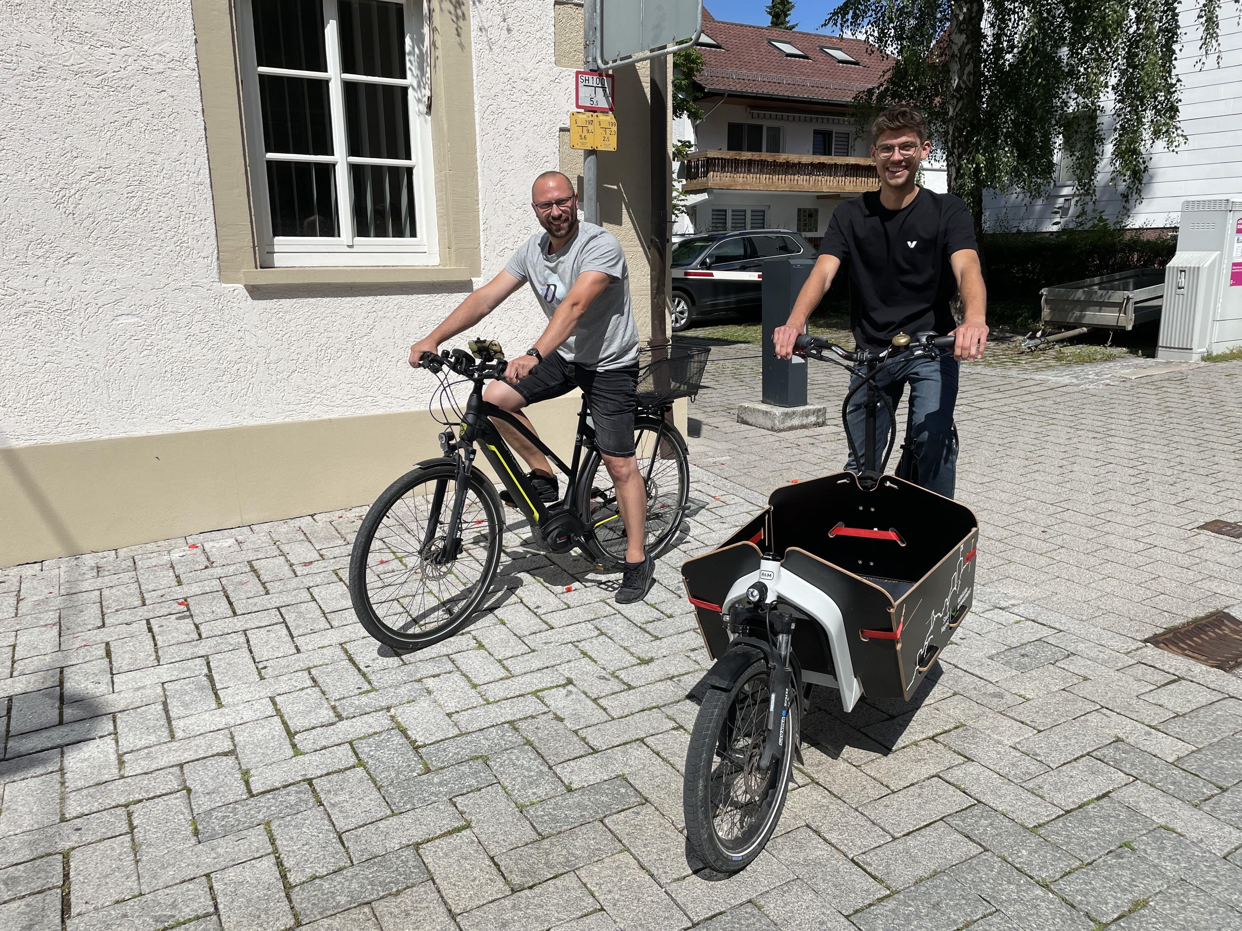 Nagold_Herr Saar und Max-